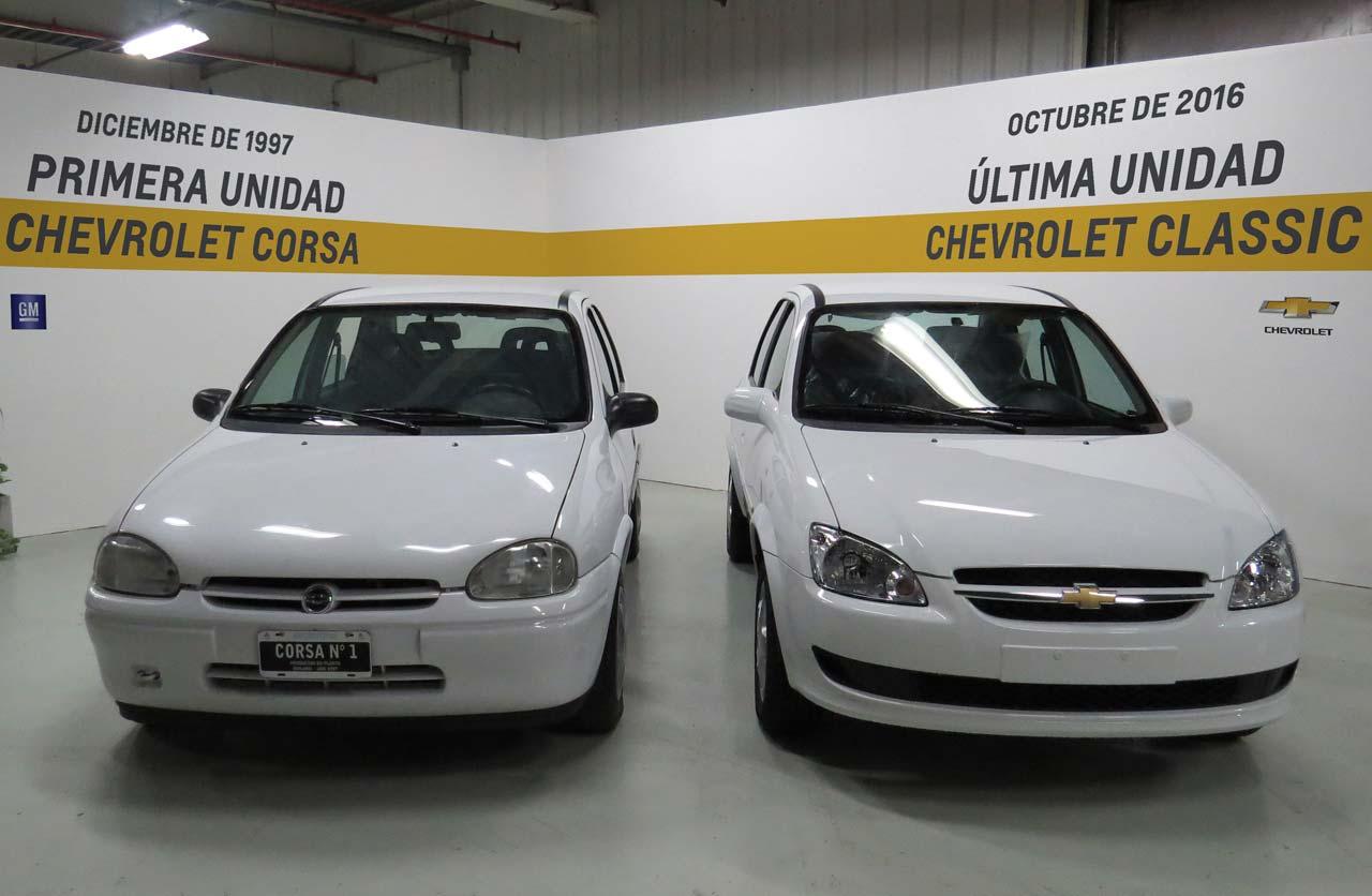 """Chevrolet """"Corsa"""" Classic, el auto más producido en la historia argentina"""
