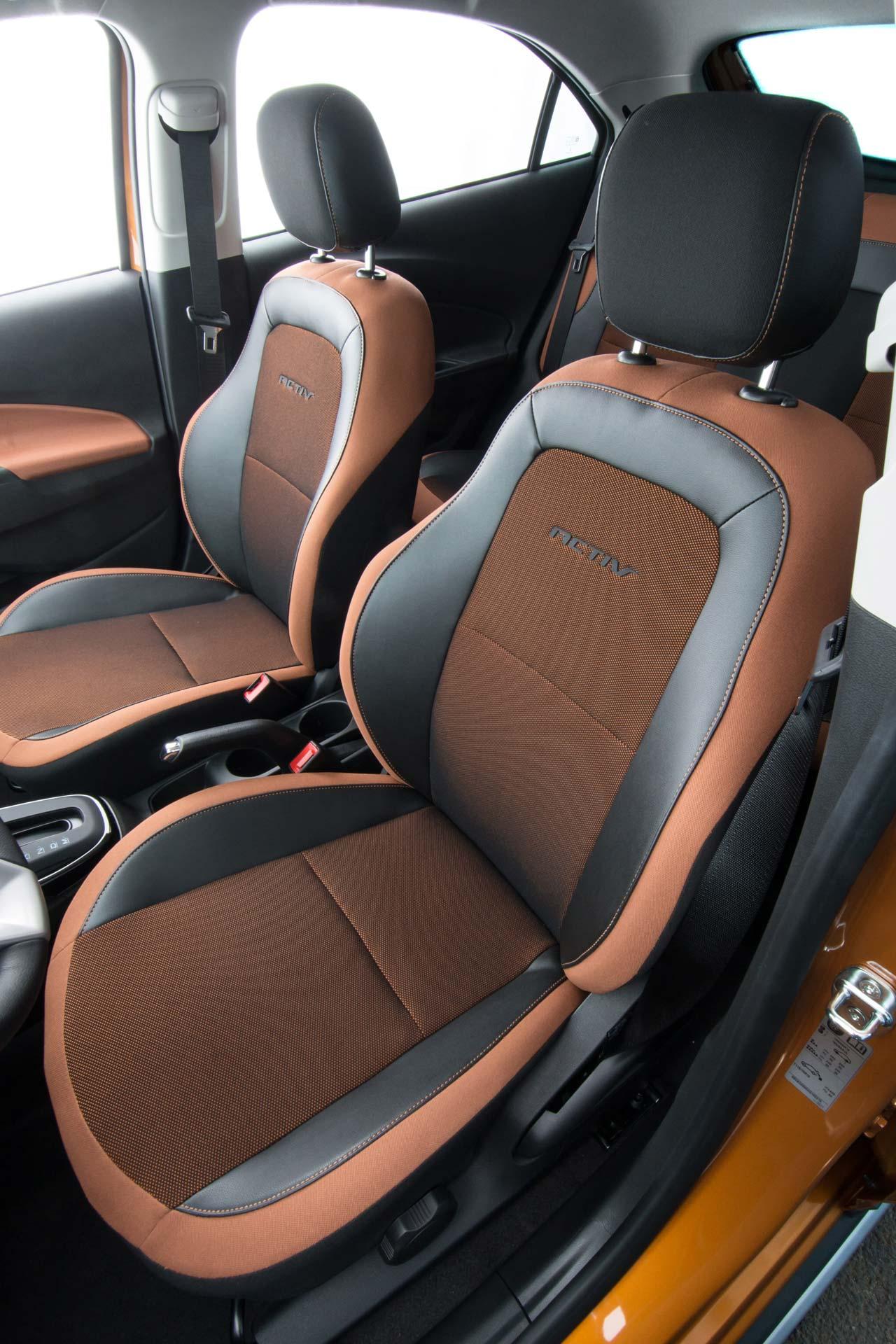 Interior Nuevo Chevrolet Onix Activ