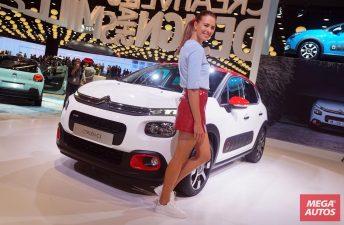 El nuevo Citroën C3 se luce en el Salón de París