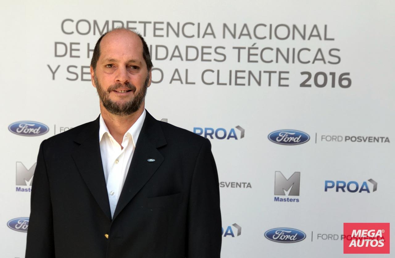 Gastón Boggio, Gerente de Ingeniería de Servicio de Ford Argentina