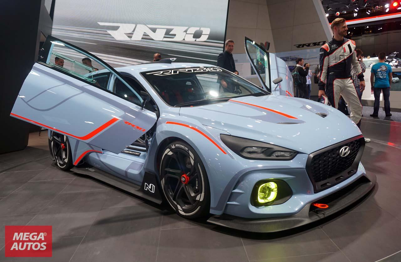 Salón de París: con el RN30, Hyundai anticipa su línea deportiva