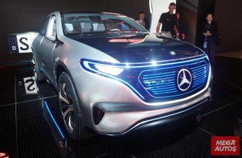 Mercedes-Benz anticipa su futuro eléctrico en París