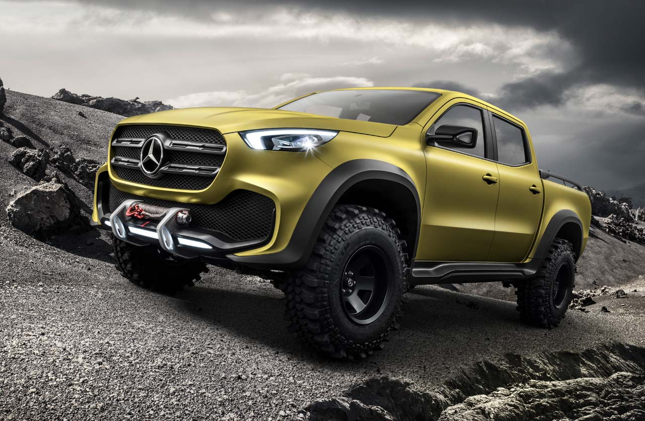 Mercedes-Benz Clase X powerful adventurer