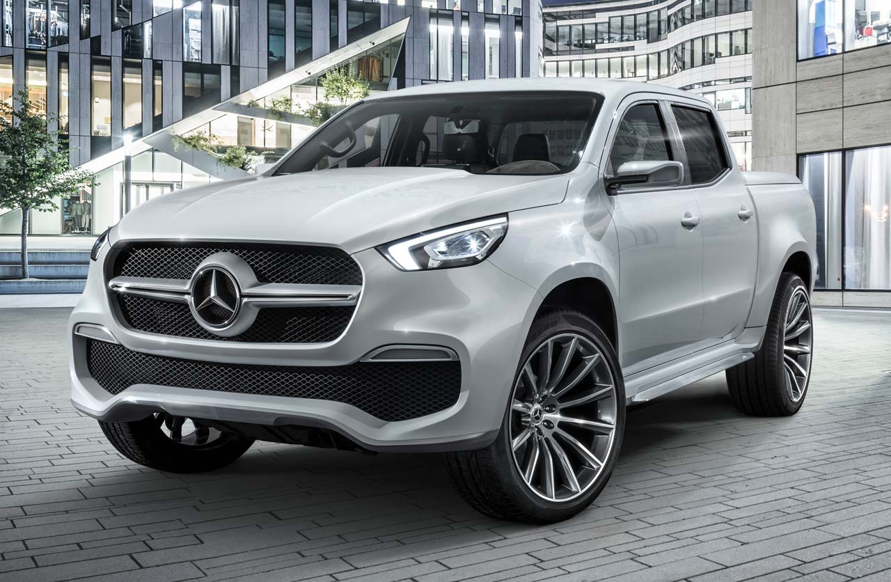 Mercedes-Benz Clase X stylish explorer