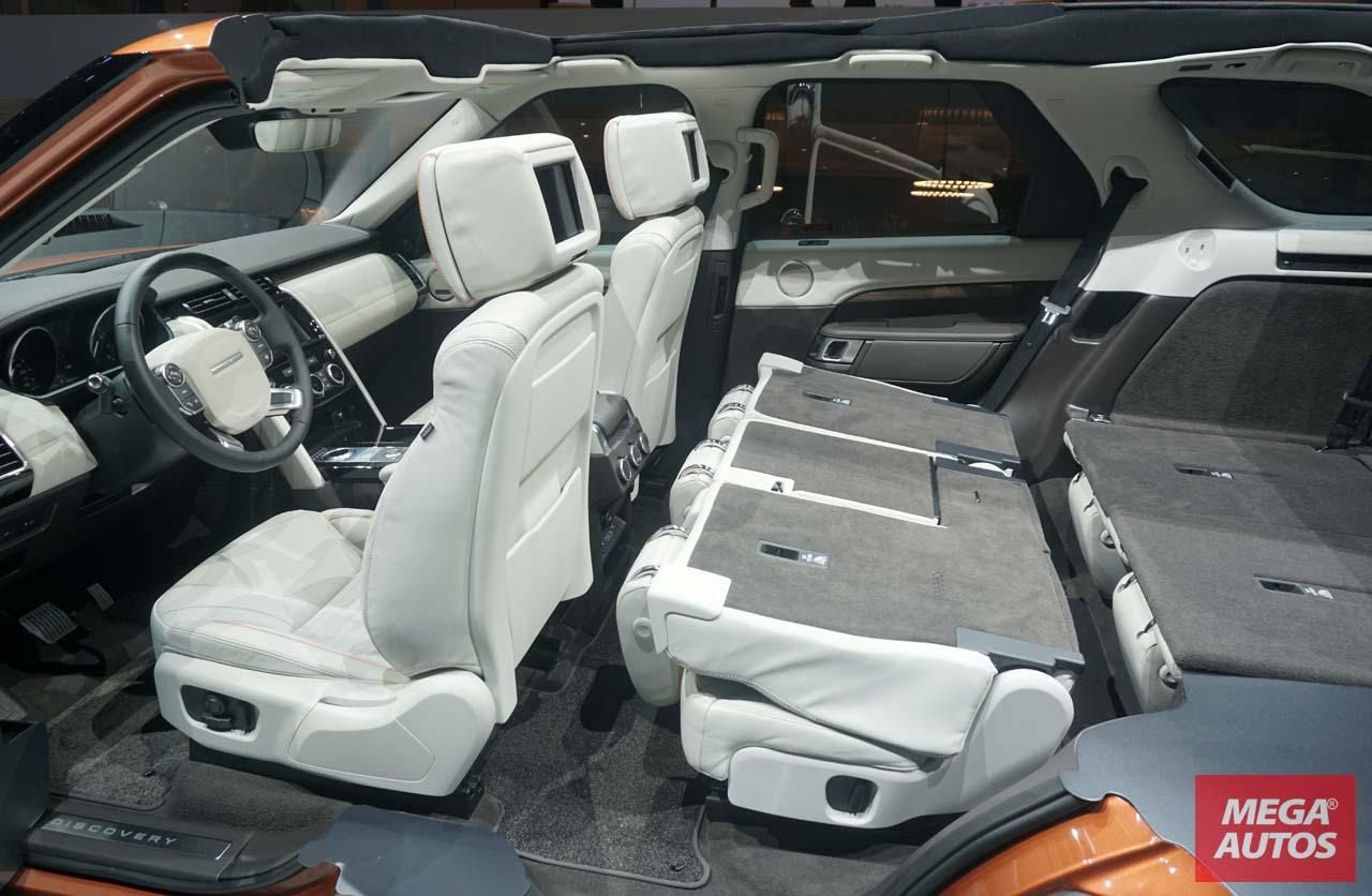 Interior Nueva Land Rover Discovery