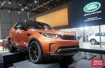 Así es la nueva generación del Land Rover Discovery