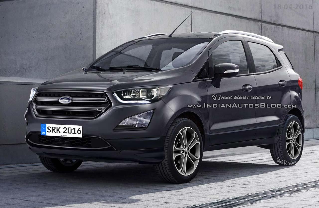 Se viene la renovación de la Ford EcoSport