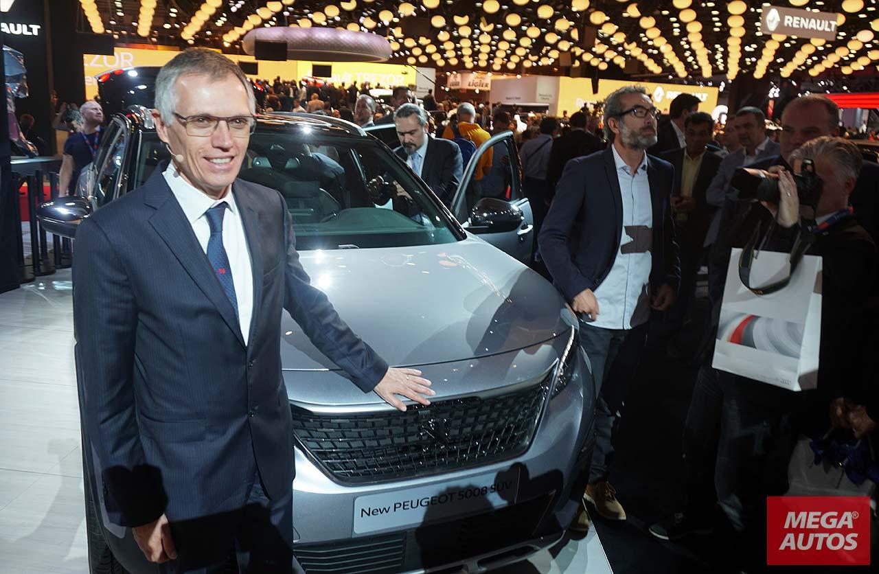 Carlos Tavares, CEO of PSA Peugeot Citroën