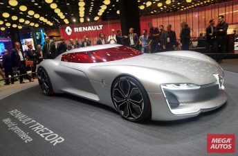 Renault anticipa su futuro con el concept Trezor