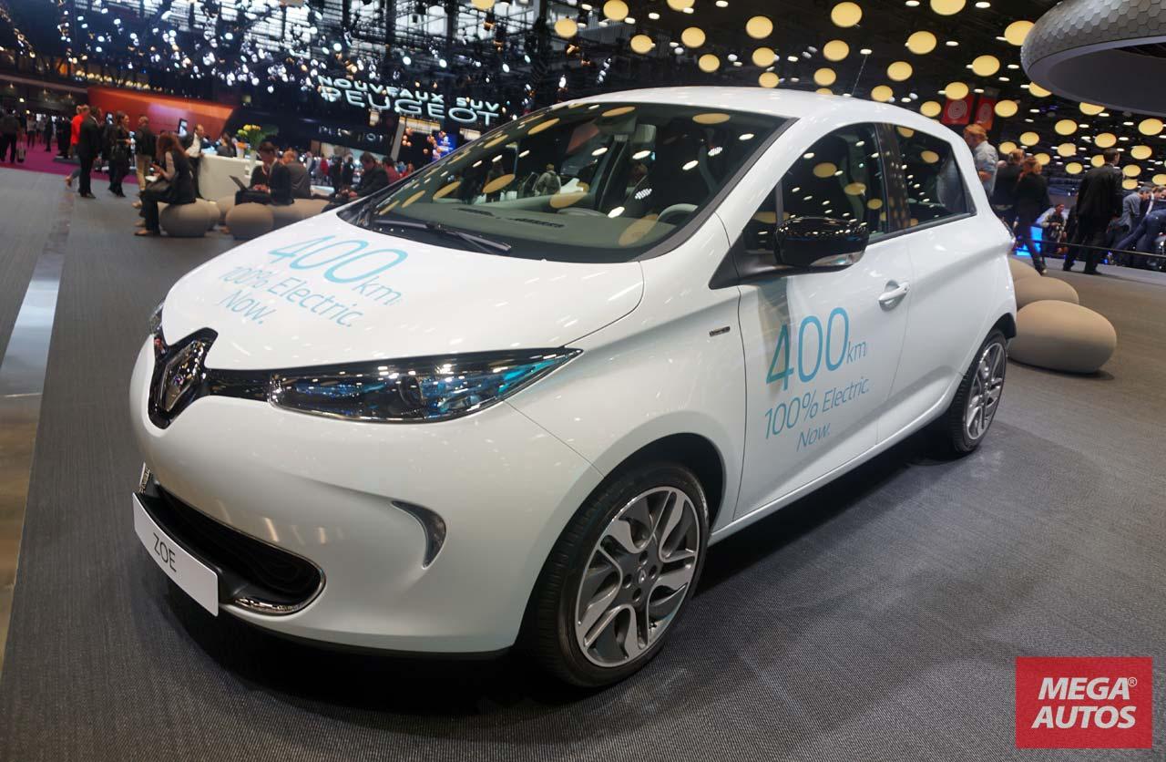 Salón de París 2016: Renault ZOE, con récord de autonomía