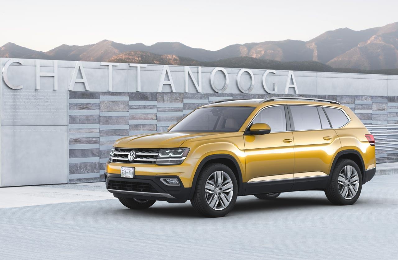 Atlas, el nuevo SUV grande de Volkswagen