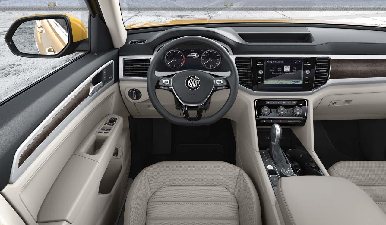 Interior Volkswagen Atlas