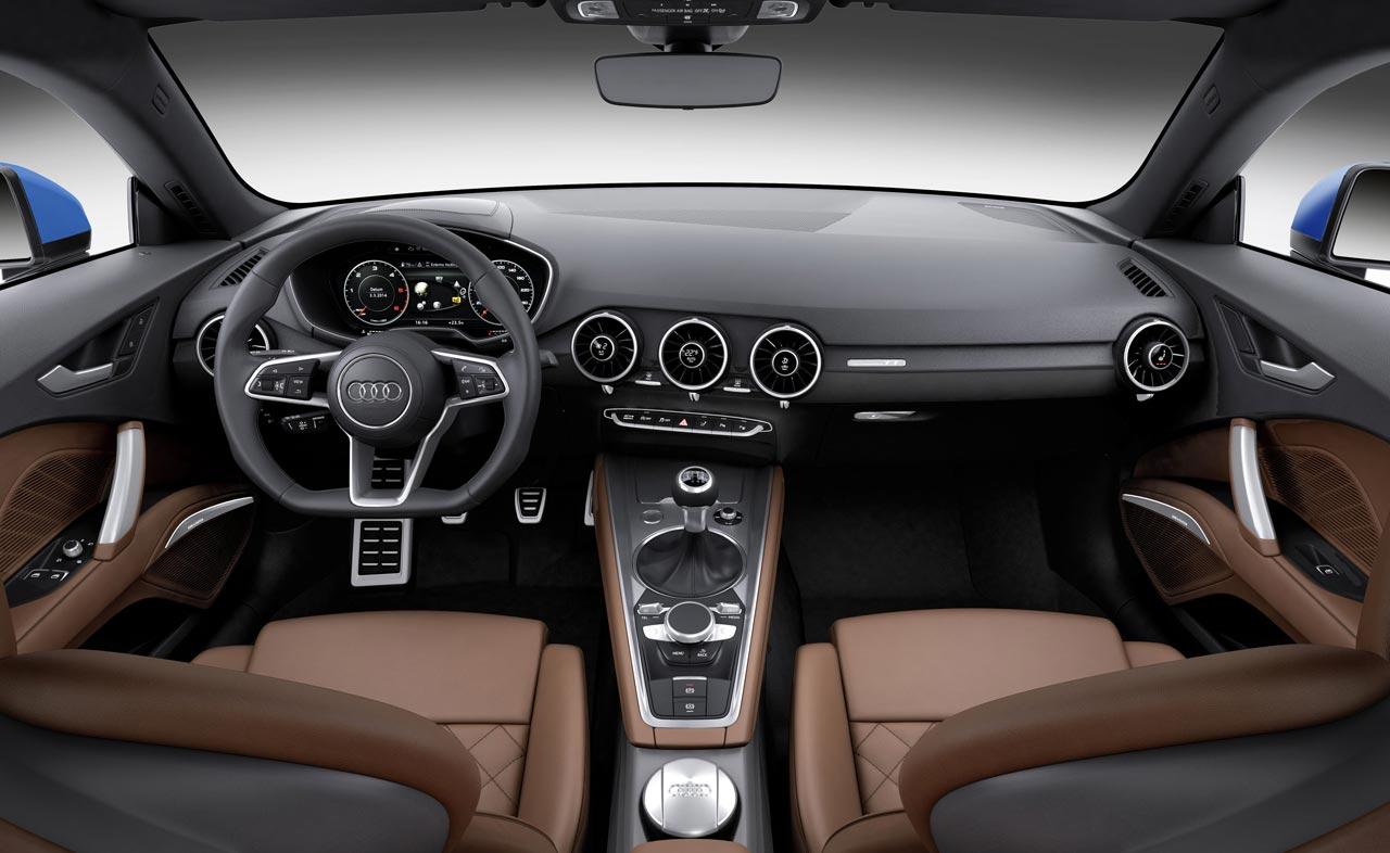 Interior Nuevo Audi TT