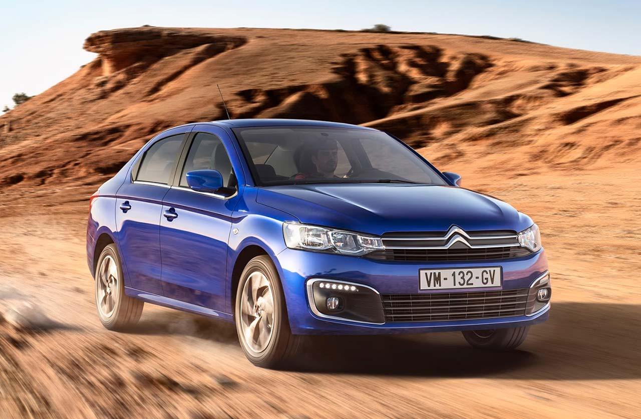 Citroën actualizó el C-Elysée, el auto de Pechito López