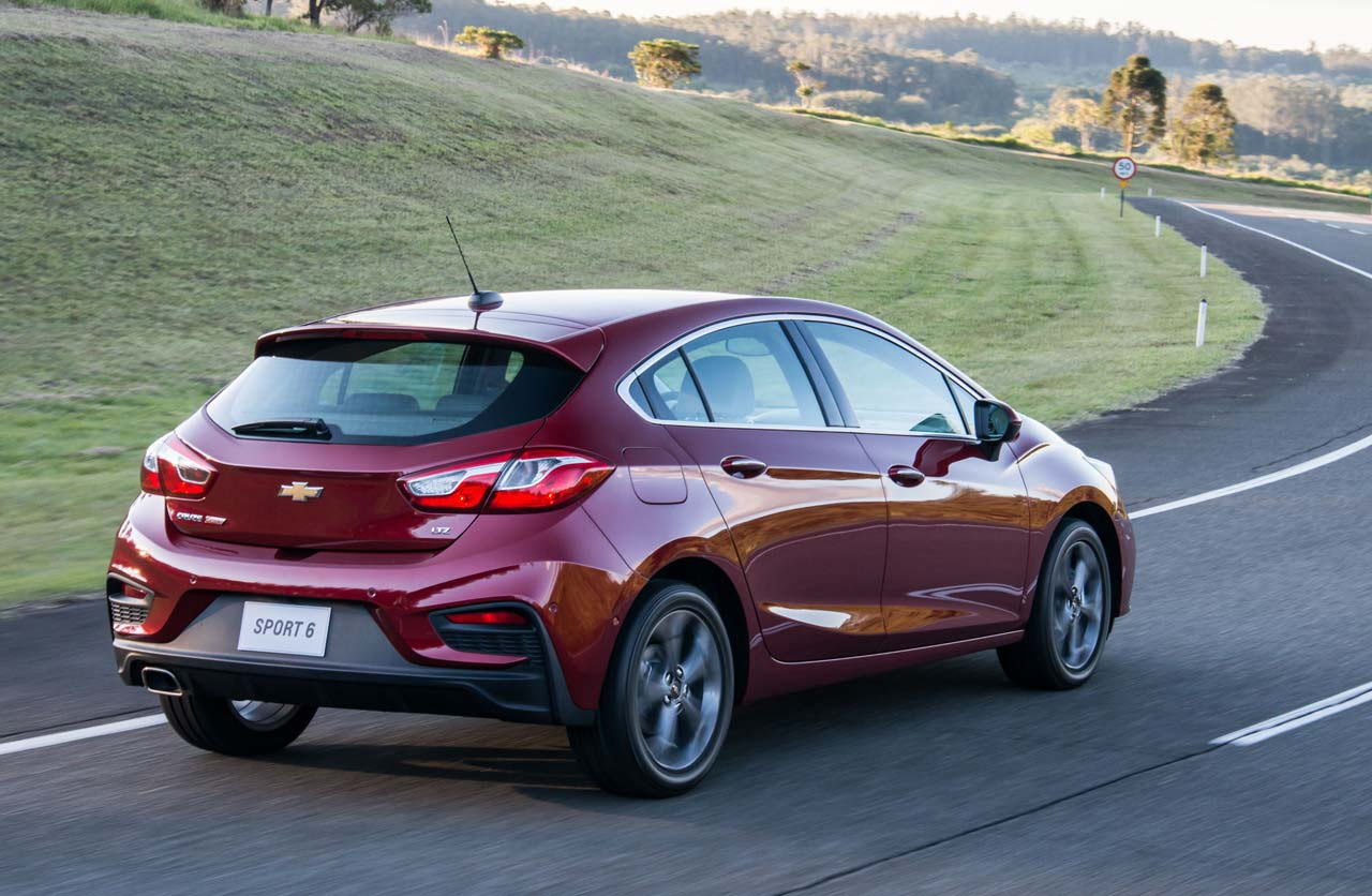 Nuevo Chevrolet Cruze Hatch