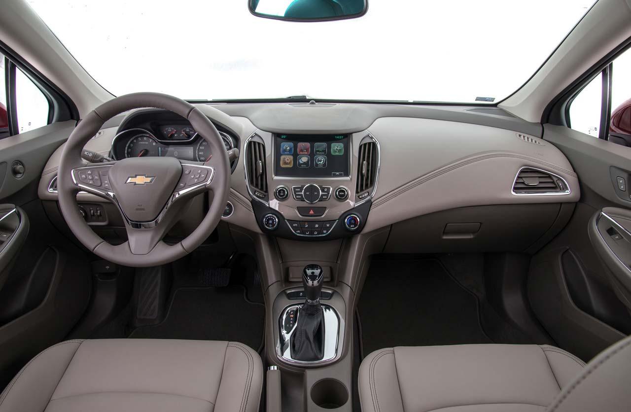 Interior Nuevo Chevrolet Cruze Hatch