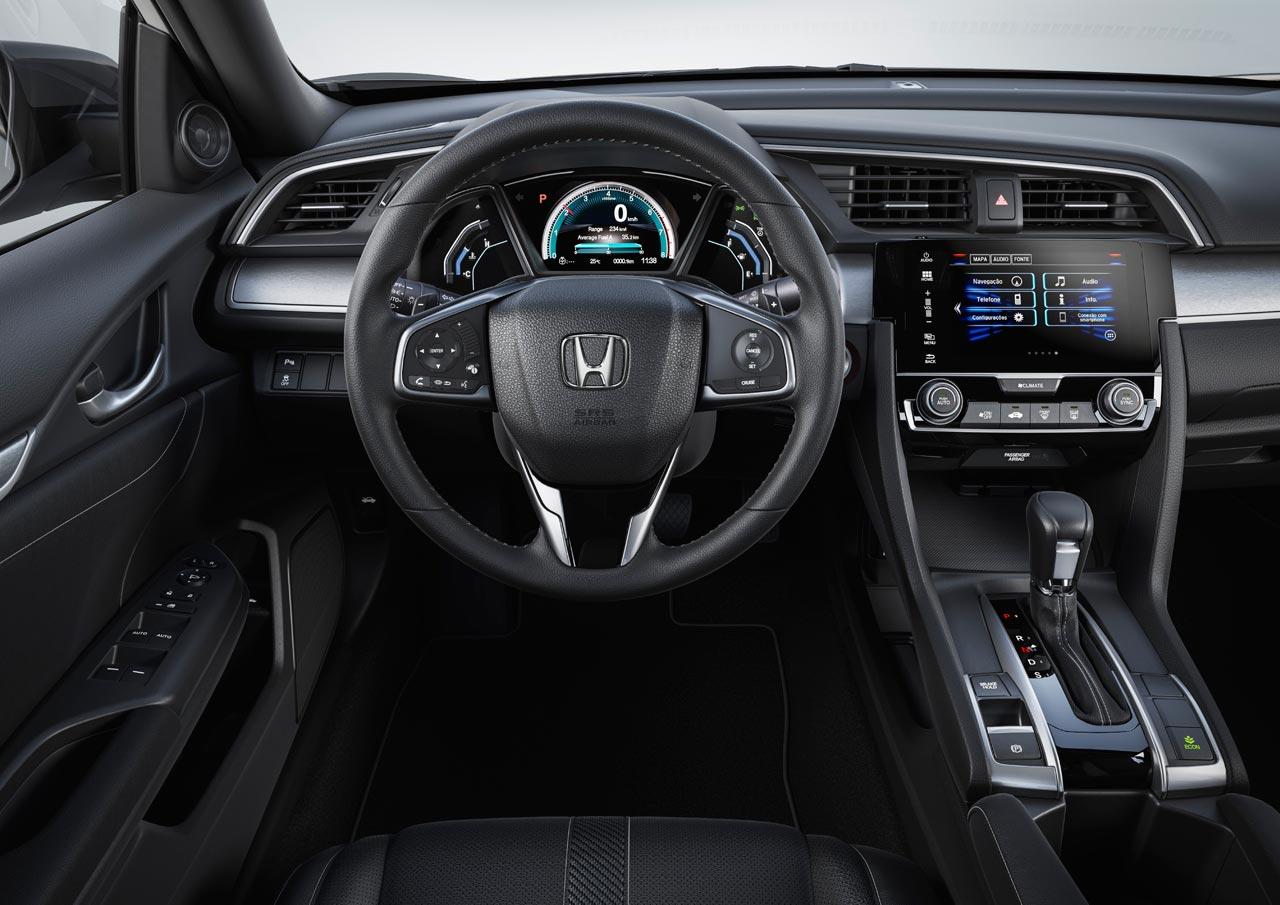 Interior Nuevo Honda Civic