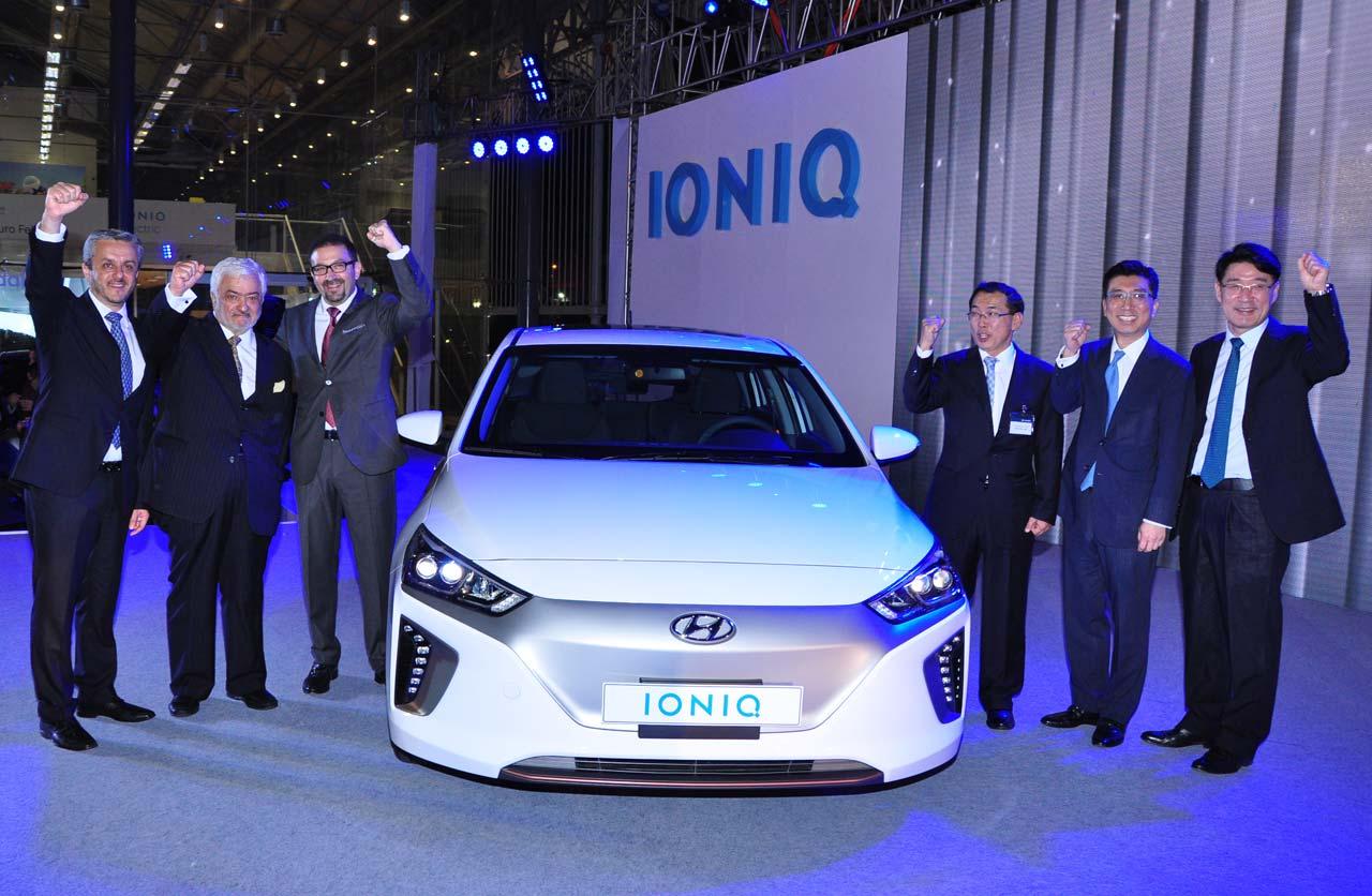Lanzamiento Hyundai Ioniq