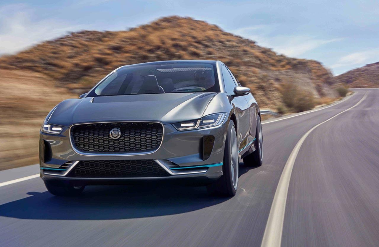 Jaguar se electrifica con el I-Pace