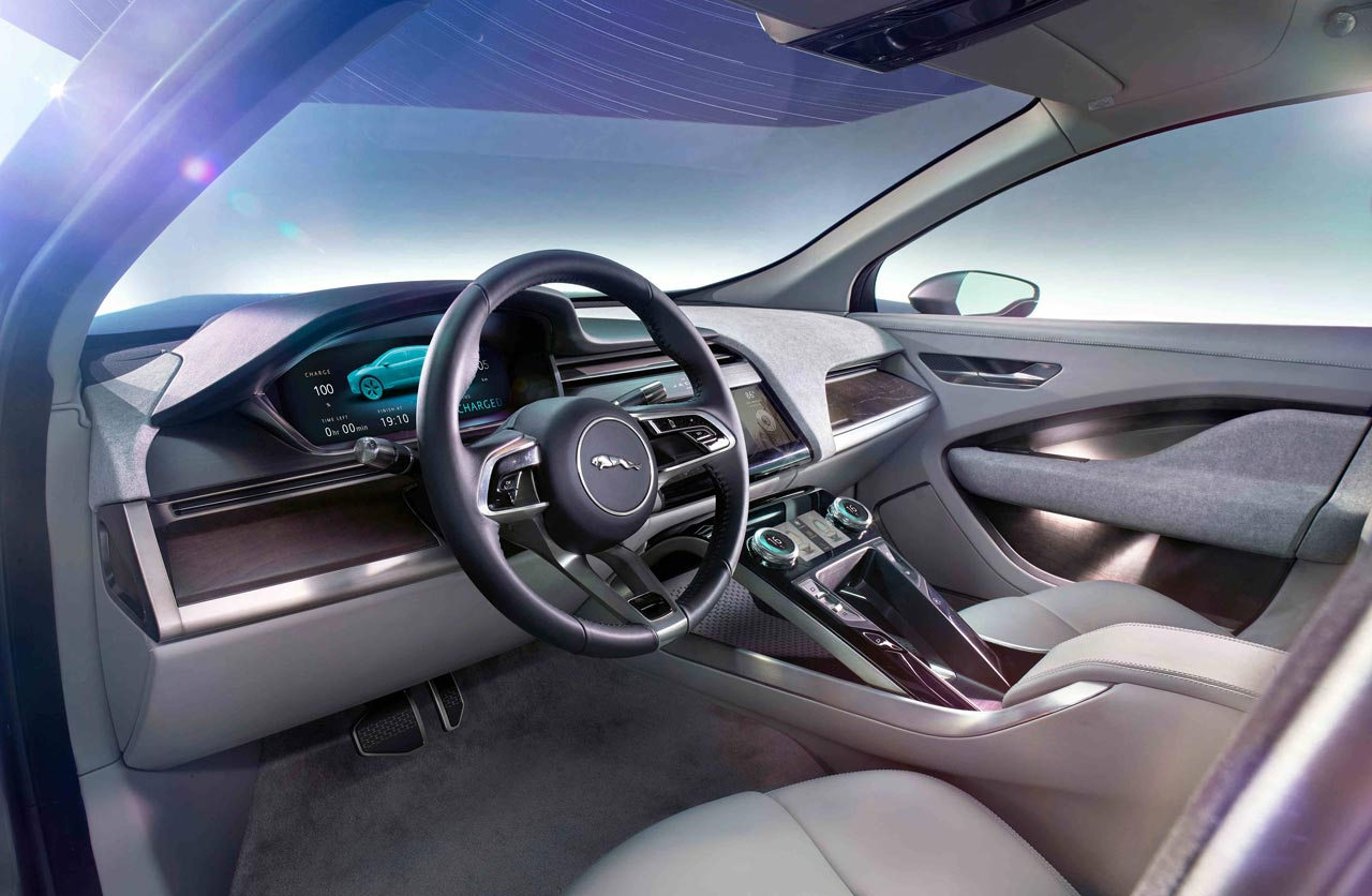 Interior Jaguar I-Pace