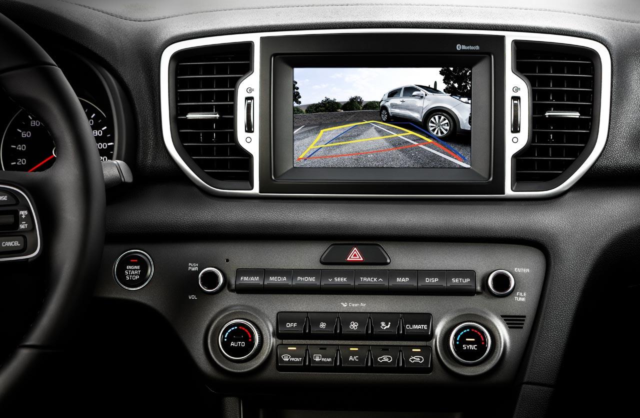 Kia Sportage nueva pantalla multimedia