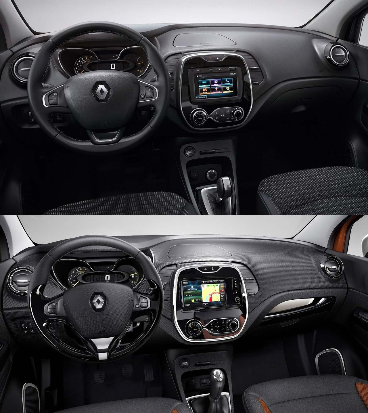 Interior Renault Captur y Kaptur
