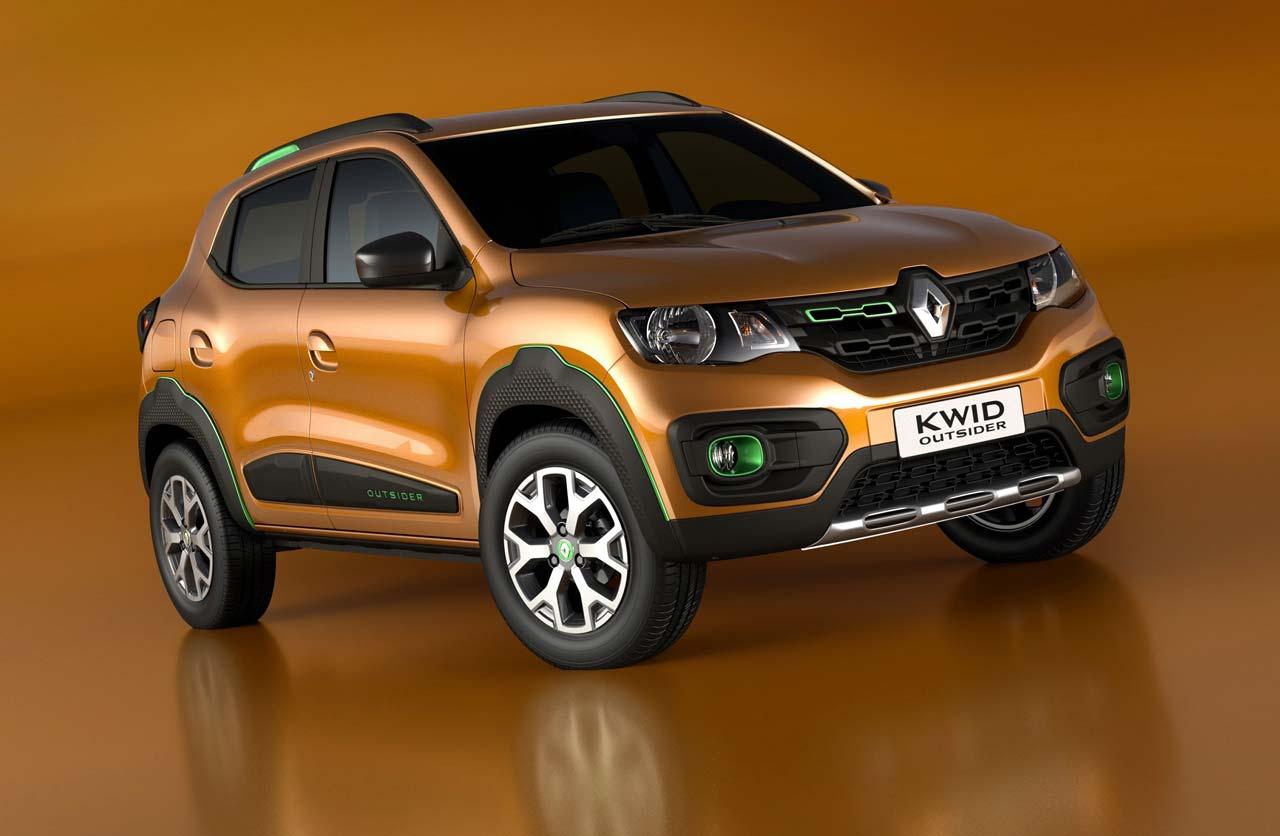 Se viene el Renault Kwid brasileño