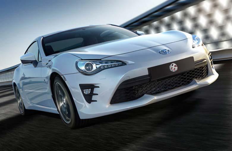 Toyota renovó la cupé 86 en Argentina