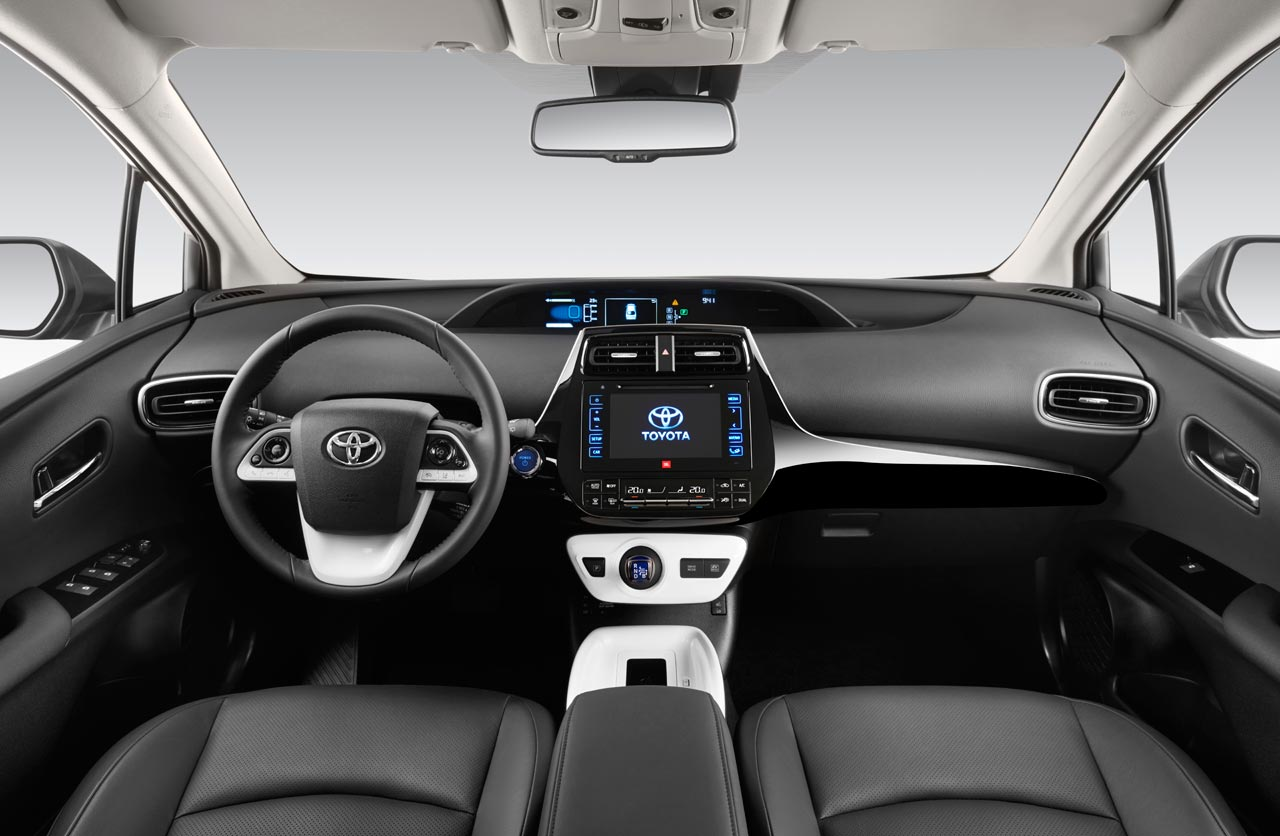 Interior Nuevo Toyota Prius