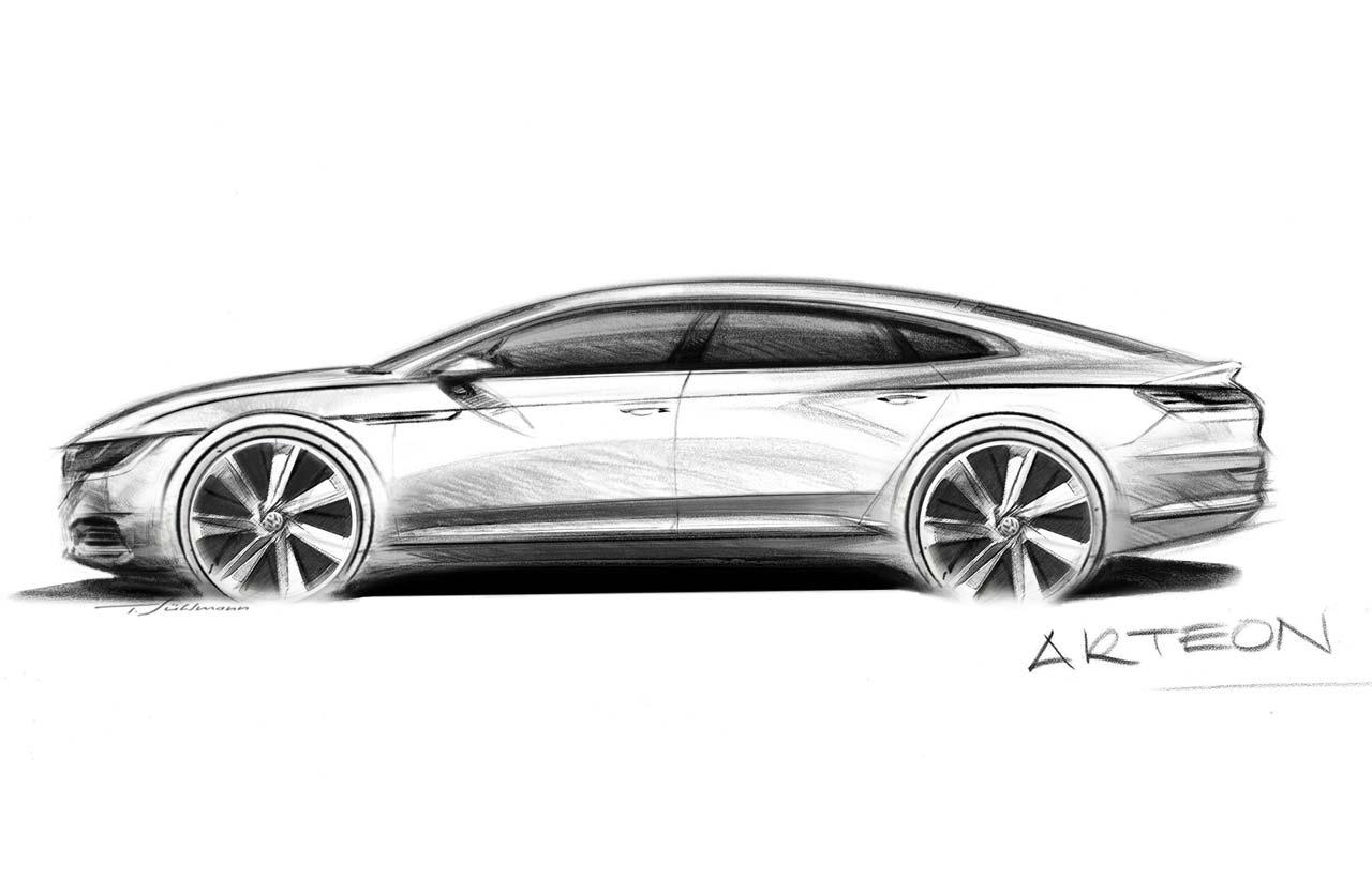 Volkswagen Arteon, con genes de CC