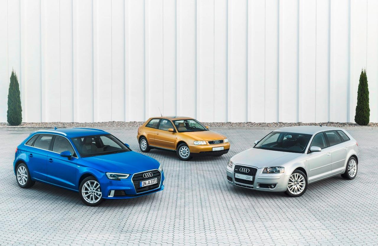 El Audi A3 cumple 20 años