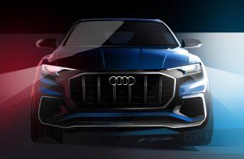 El inédito Audi Q8 asoma antes de Detroit