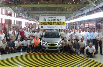 El Chevrolet Agile dice adiós