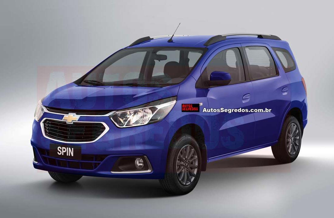 ¿Lucirá así la actualización de la Chevrolet Spin?