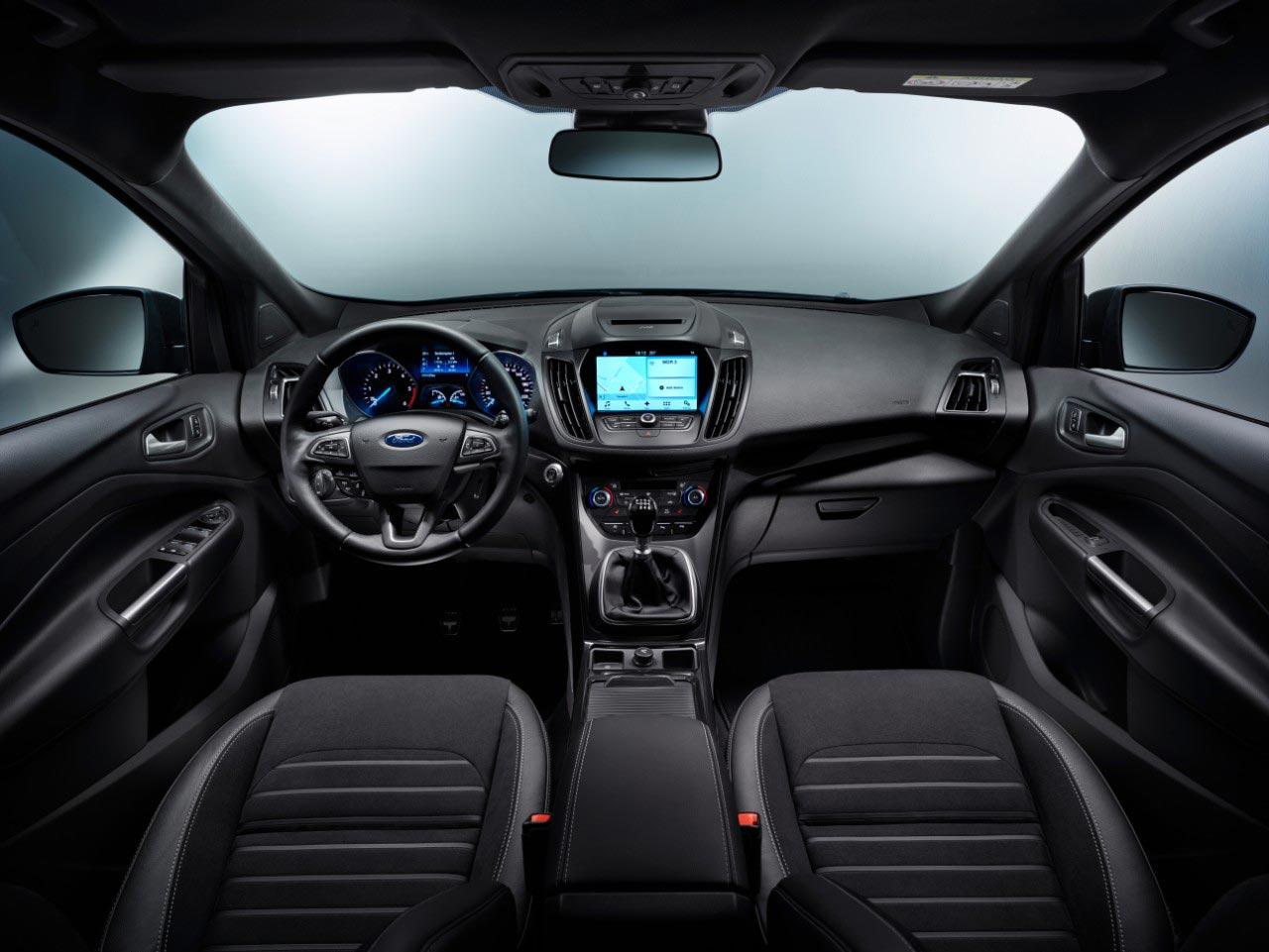 Interior Ford Kuga 2017