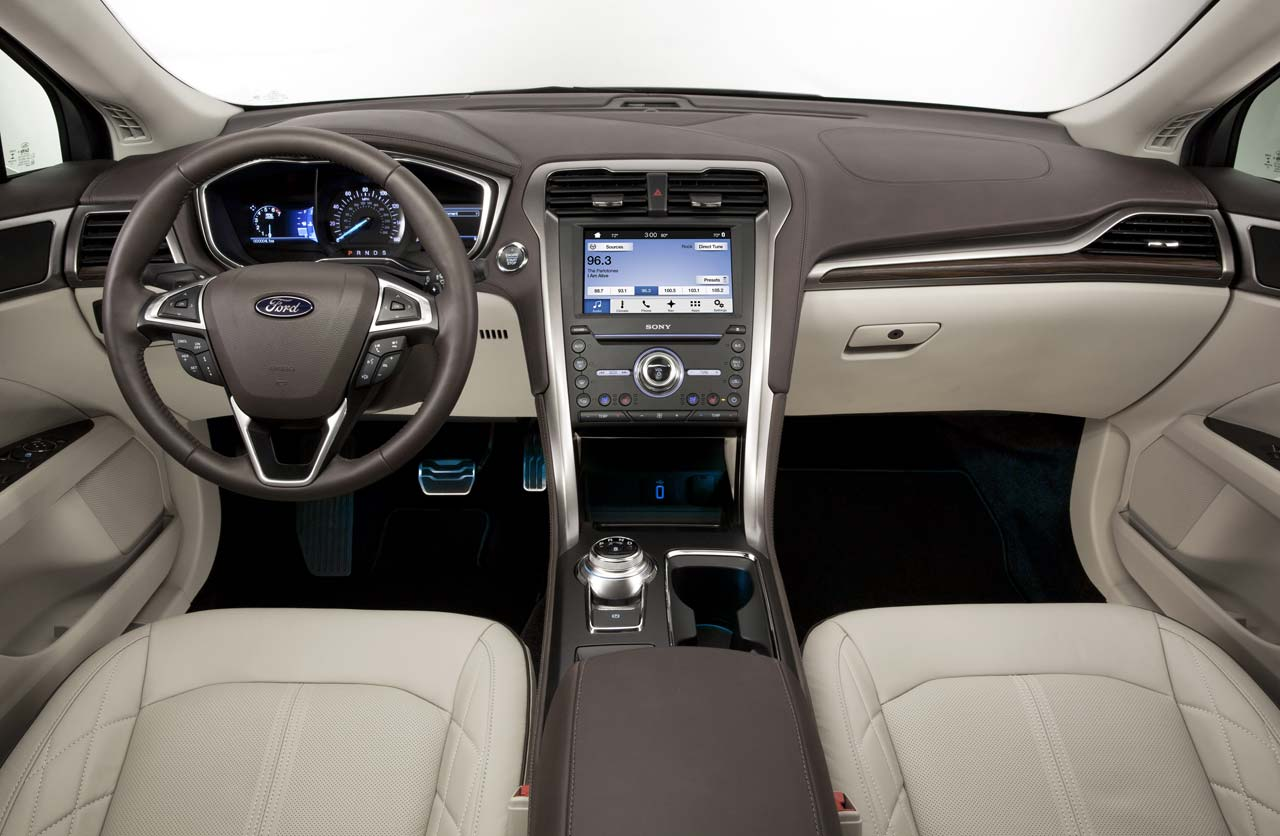 Interior Ford Mondeo 2017