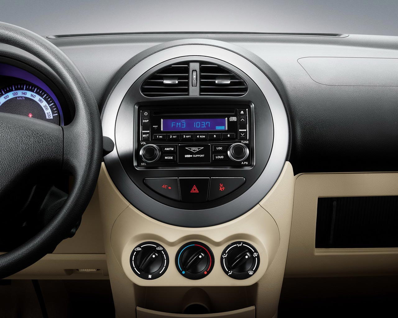 Geely LC interior