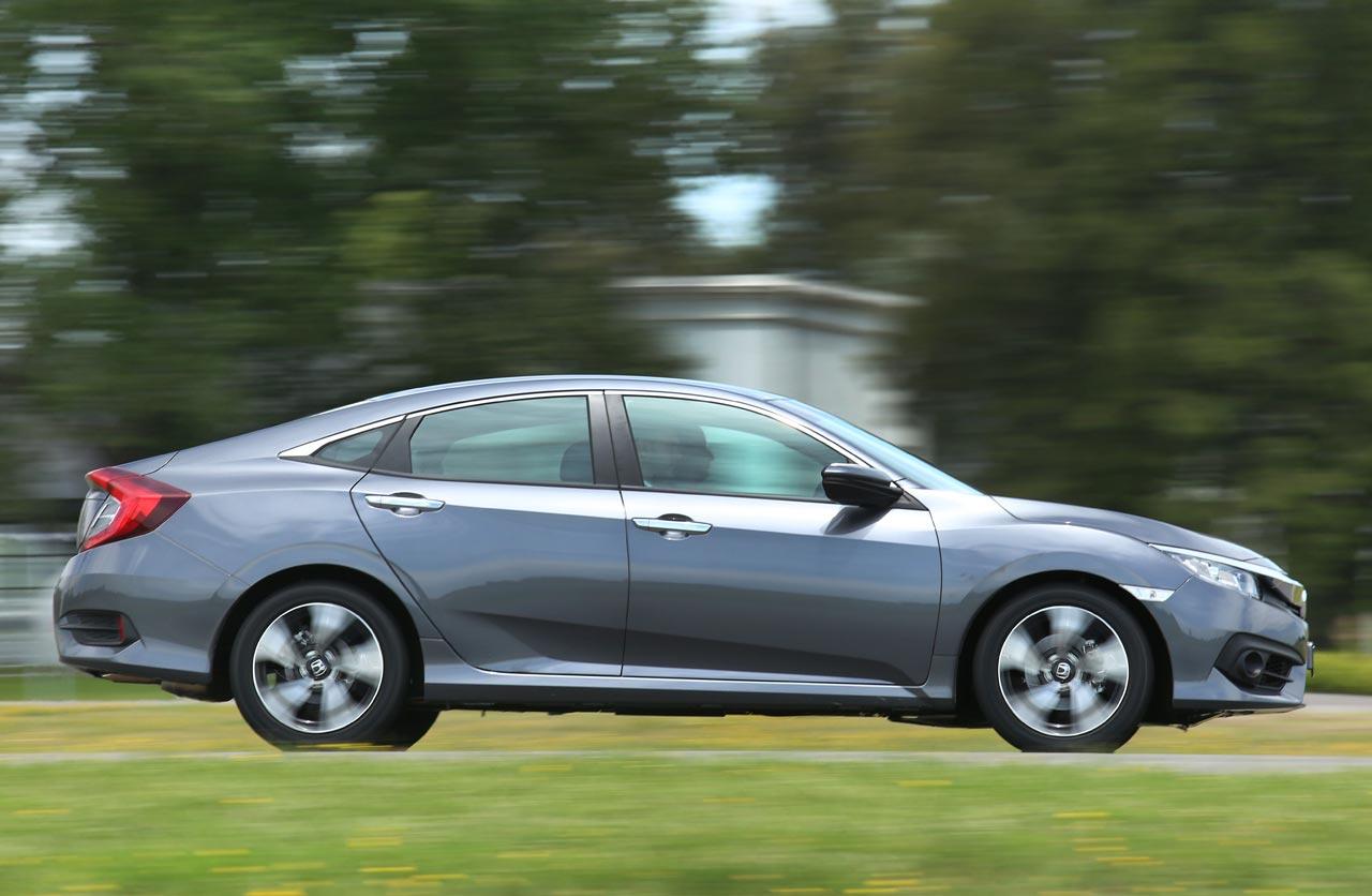 Nuevo Honda Civic prueba
