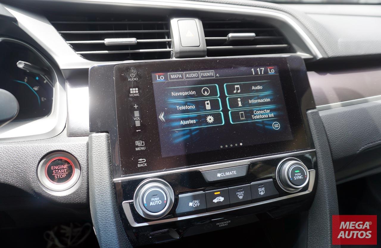 Nuevo Honda Civic interior