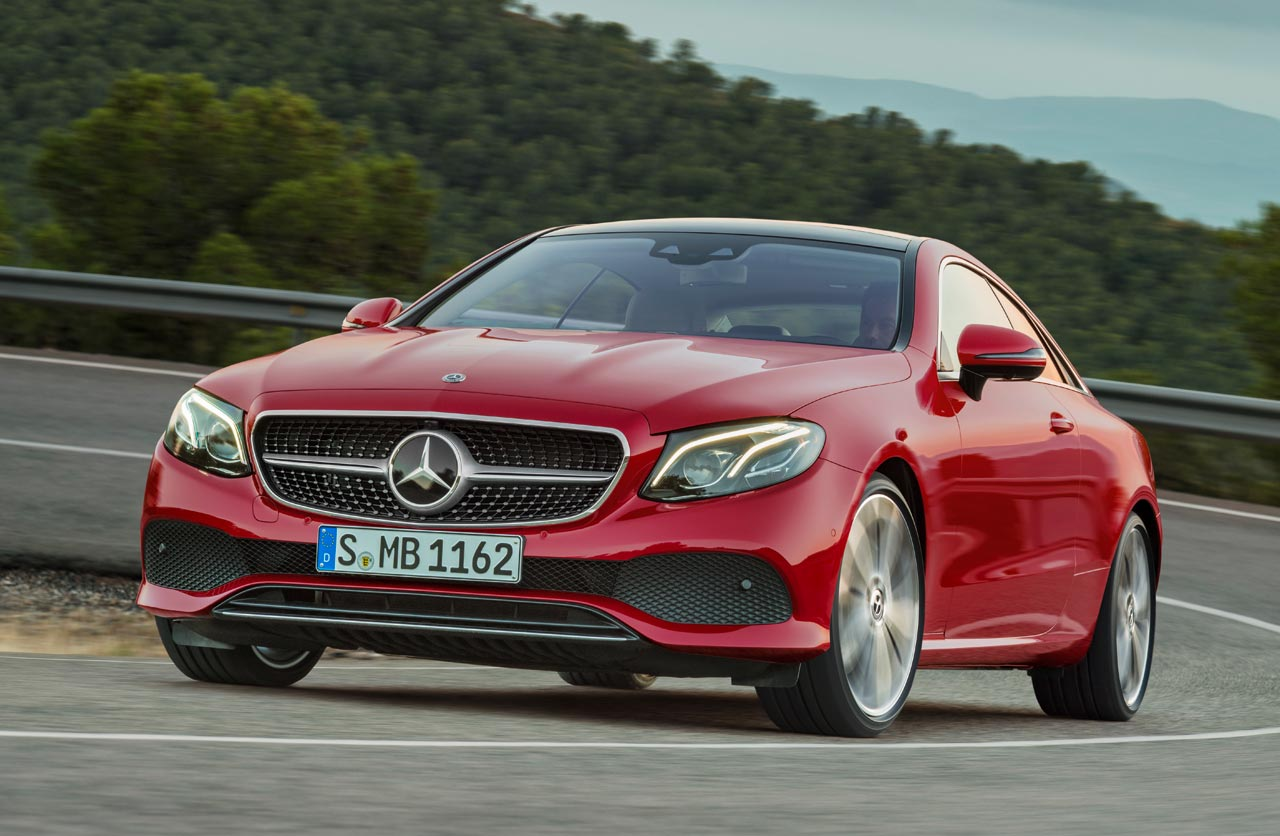 Así es la nueva generación del Mercedes-Benz Clase E Coupé