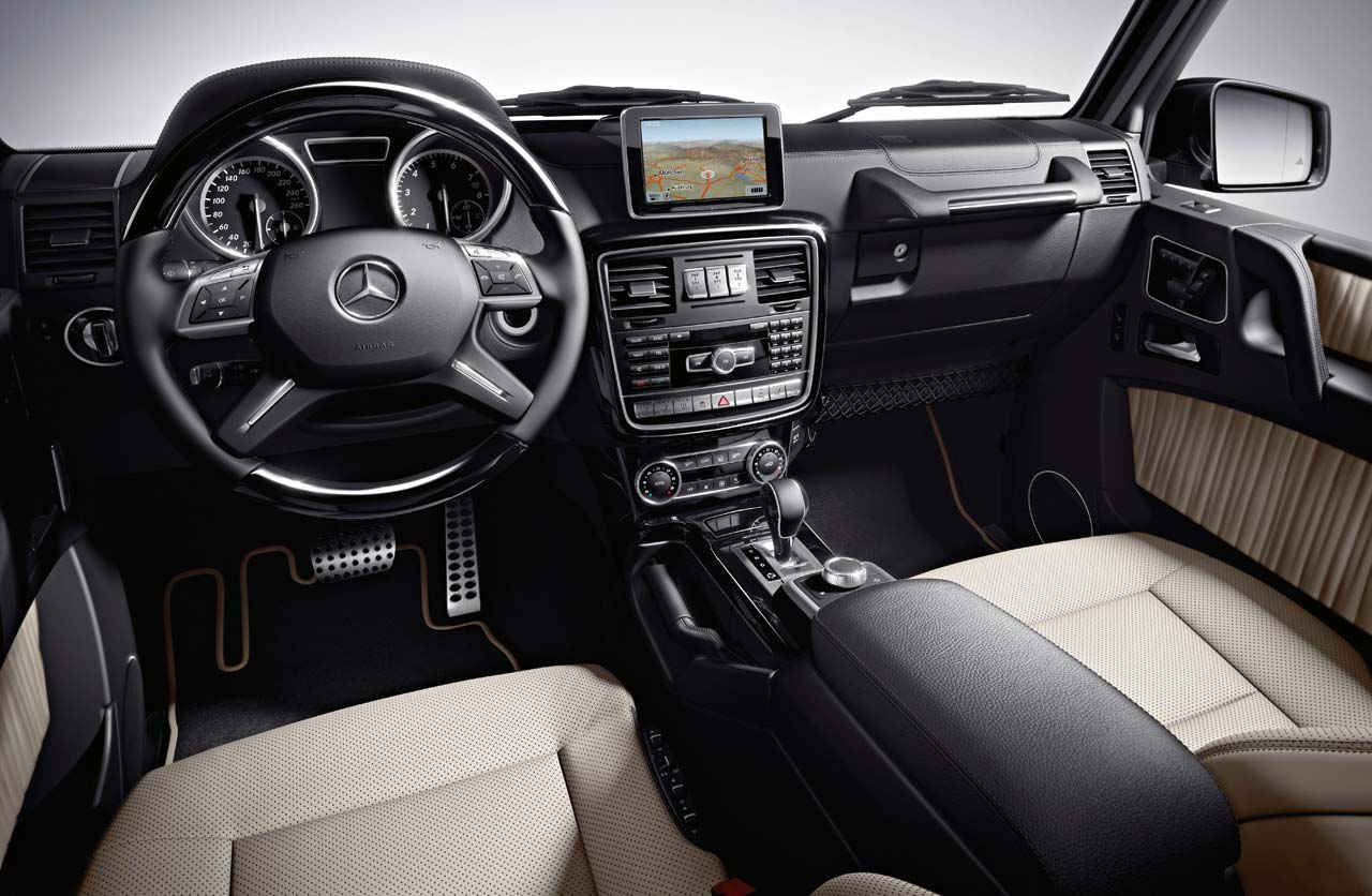 Interior Mercedes-Benz Clase G