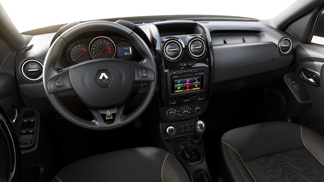 Interior Renault Duster Dakar