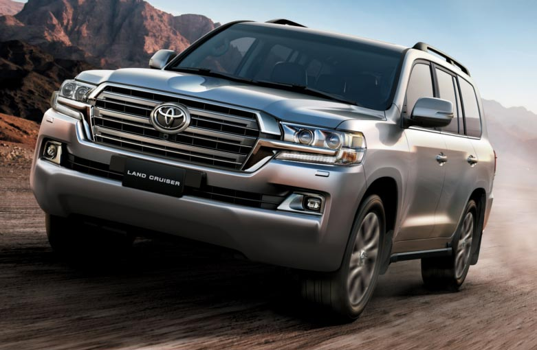 Nuevos aires para la Toyota Land Cruiser 200 en Argentina