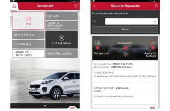 Kia Argentina con nueva App y servicio rápido