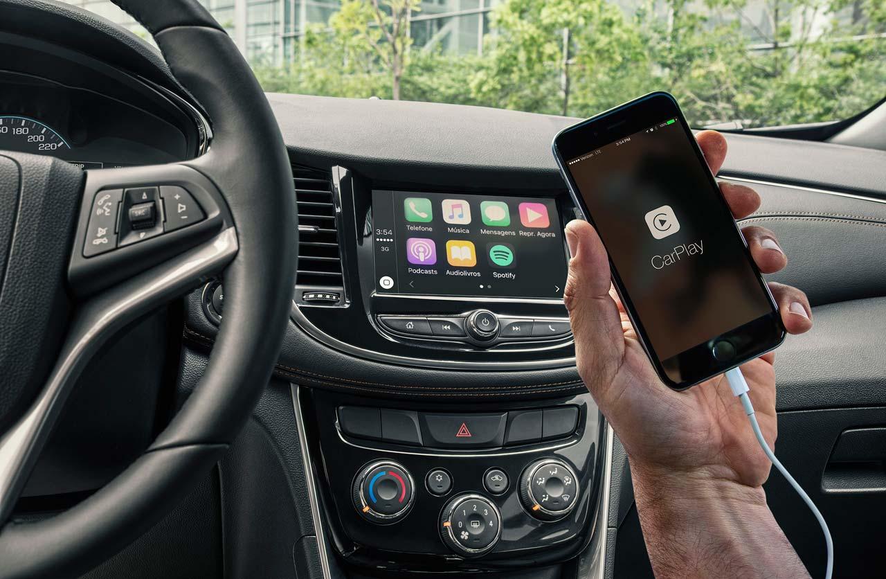 Apple CarPlay Chevrolet Tracker