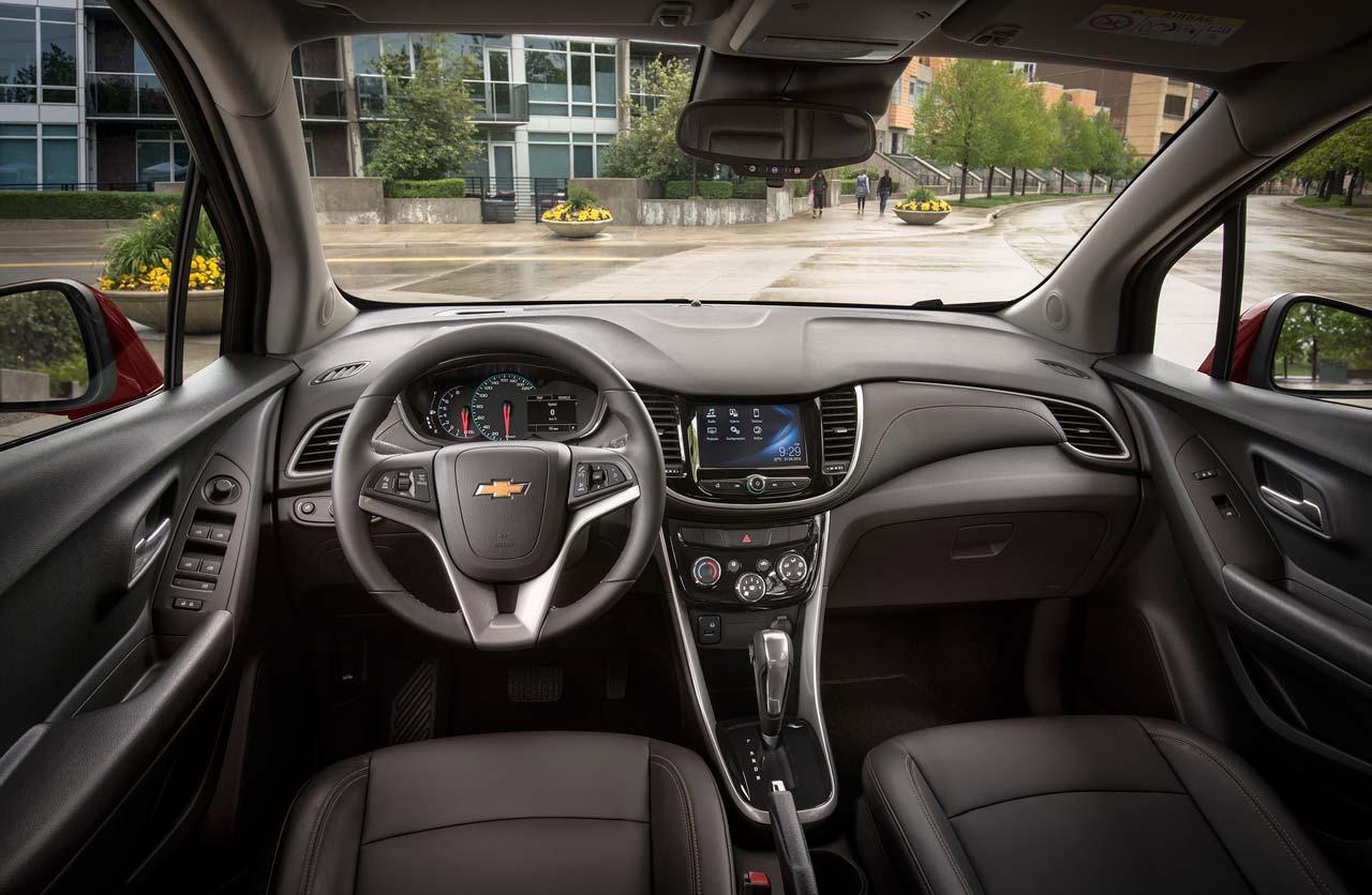 Interior Chevrolet Tracker