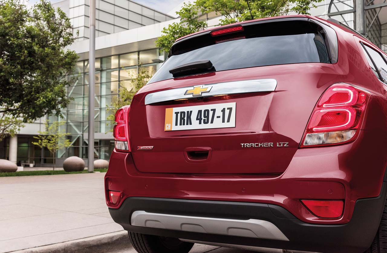 Chevrolet Tracker portón