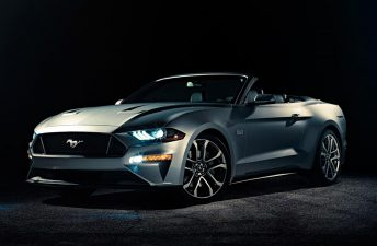 El nuevo Ford Mustang, también Convertible
