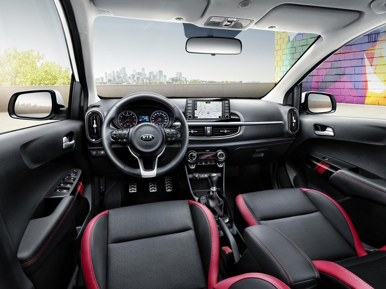 Interior Nuevo Kia Picanto