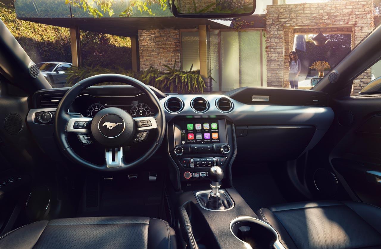 Interior Nuevo Ford Mustang